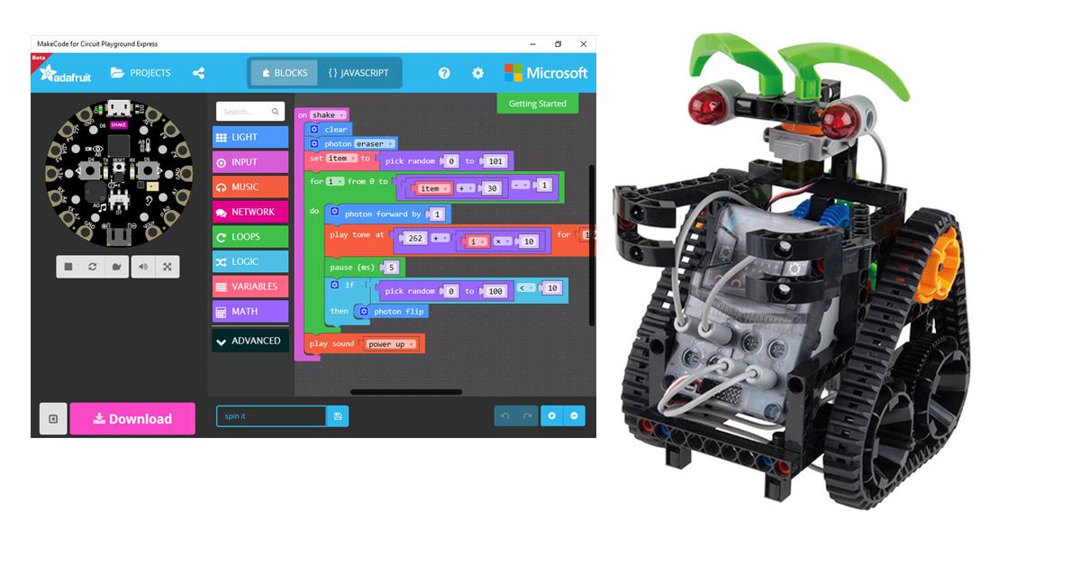 Engineering με micro:bit