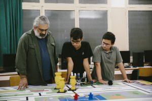 Κώστας Τσατσαρώνης προπονητής STEM
